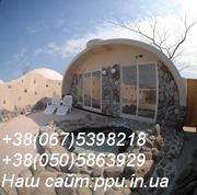 Купольные дома  110$ за м.кв, оборудование для производства купольных